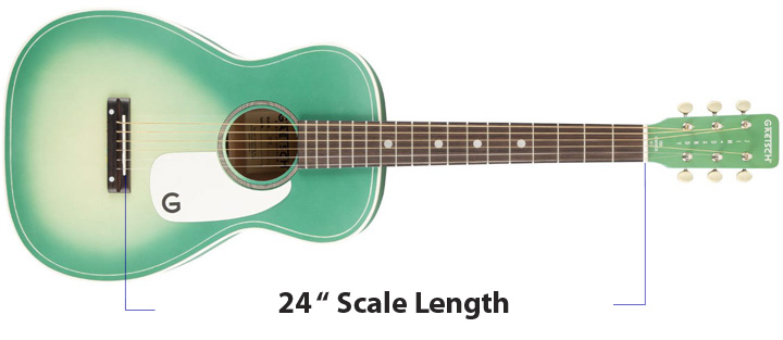 short scale acoustic guitar