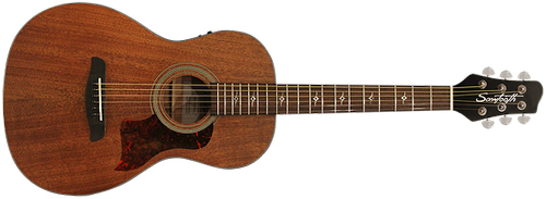 Sawtooth Acoustic-Electric Mahogany Parlor