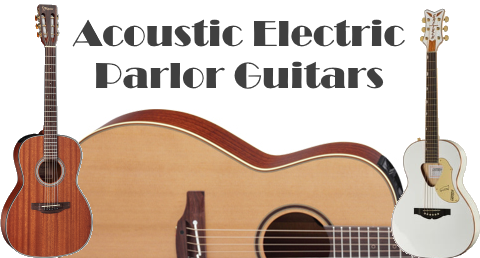 Acoustic Electric Parlor Guitars