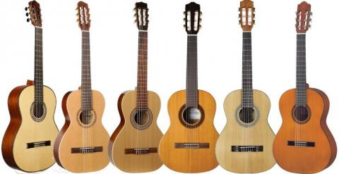 Nylon String Parlor Guitars & Small Classical Guitars