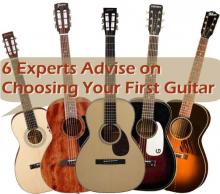 6 experts provide advice on choosing your first guitar
